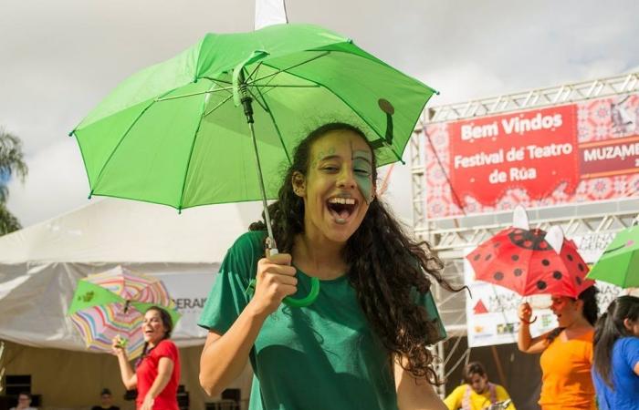 Confira como foi o 1º Festival de Teatro de Rua em Muzambinho