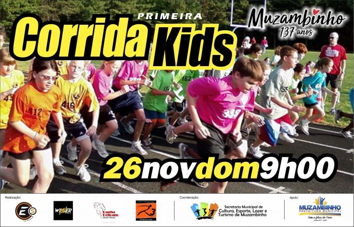 CORRIDA KIDS de MUZAMBINHO.