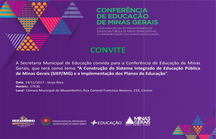 Conferência de Educação de Minas Gerais