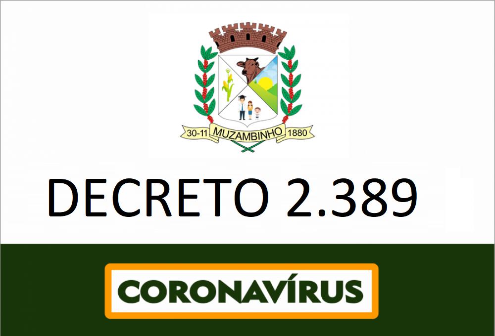 Decreto Nº 2389/2020