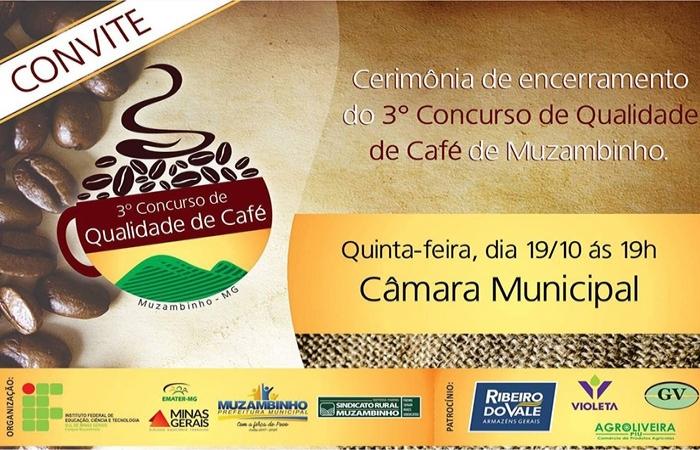 3º Concurso de Qualidade de Café de Muzambinho